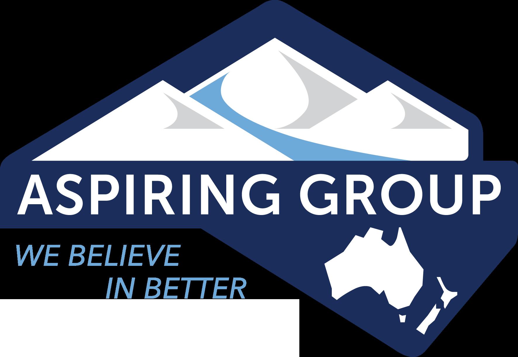 Aspiring Group Logo Final Colour Incl Tagline